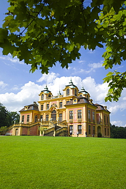 Schloss Favorite, Baroque pleasure palace and hunting lodge, Favorite Park, Ludwigsburg, Baden-Wuerttemberg, Germany, Europe