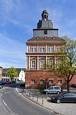 Roter Turm tower, Trier, Rhineland-Palatinate, Germany, Europe