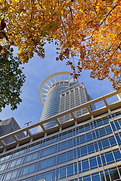 Westendstrasse 1 or Westendtower, Westend Tower, headquarters of the DZ Bank, Frankfurt, Hesse Germany, Europe