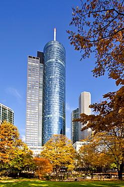 HeLaBa Hessische Landesbank, autumn, Frankfurt am Main, Hesse, Germany, Europe