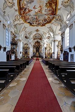 The Kloster Bergen monastery, a former Benedictine monastery, Bergen, Neuburg an der Donau, Diocese of Eichstaett, Bavaria, Germany, Europe