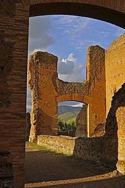 Villa Adriana or Hadrian's Villa, Tivoli, Lazio, Italy, Europe