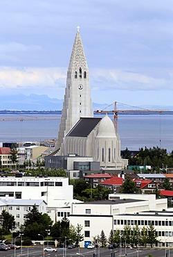 Hallgrimskirkja, church of Hallgrimur, Reykjavik, Iceland, Europe