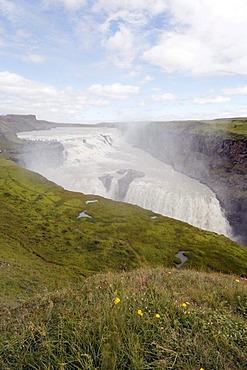 Gullfoss waterfall, Golden Circle, Iceland, Europe