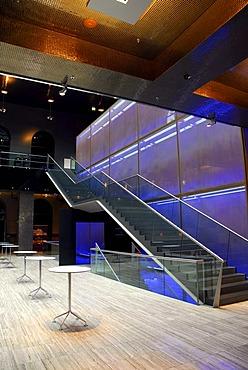 Hotel foyer, Dorint Sofitel Bayerpost, Munich, Upper Bavaria, Germany, Europe
