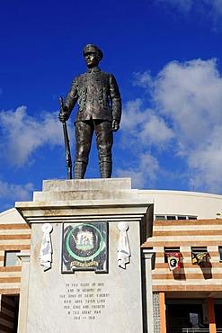 War Memorial, town centre, Kingstown, Saint Vincent, Caribbean