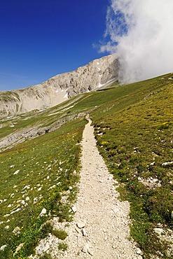 Corno Grande, Campo Imperatore, Gran Sasso National Park, Abruzzo, Italy, Europe