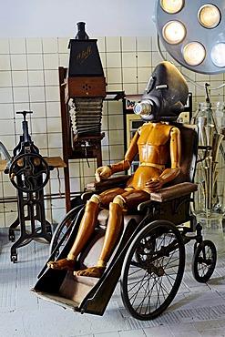 Objects in the Designpanoptikum museum of bizarre objects, Berlin, Germany, Europe