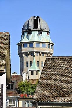 Urania-Sternwarte Zuerich observatory, Zurich, Switzerland, Europe