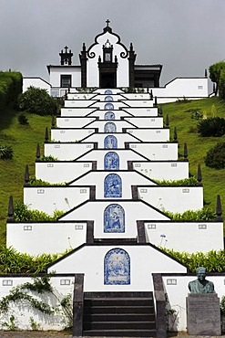 Ermida da Nostra Senhora da Paz near Vila Franca da Campo on the island of Sao Miguel, Azores, Portugal