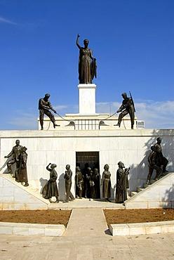 Liberty Monument, Podokataro Bastion, Nicosia, Lefkosia, Southern Cyprus, Republic of Cyprus, Mediterranean Sea, Europe