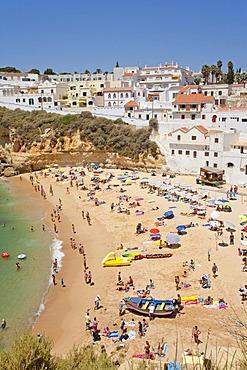 Beach of Carvoeiro, Algarve, Portugal, Europe