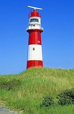 Electrical lighthouse, Borkum Island, Eastern Friesland, Germany, Europe