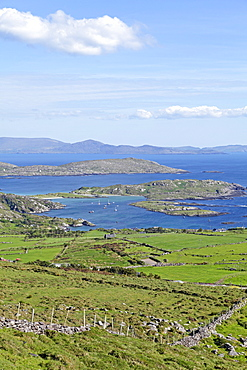 View of Ballinskelligs Bay, Ring of Kerry, Ireland, Europe