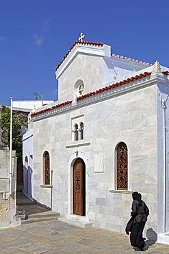 Kechrovouni Nunnery, Tinos island, Cyclades, Aegean Sea, Greece, Europe