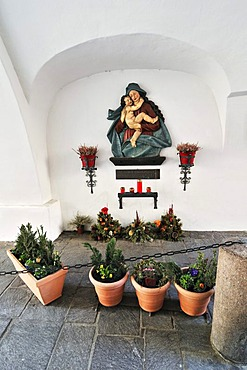Image of Virgin Mary, Innsbruck, Tyrol, Austria, Europe