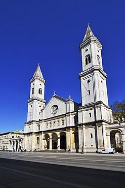 Ludwigskirche church, Munich, Bavaria, Germany, Europe