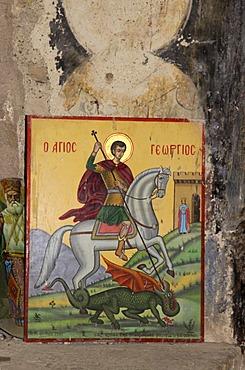 Chapel, Agia Triada excavation site, Crete, Greece, Europe