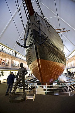 The Fram, the research ship of Fridtjof Nansen and Roald Amundsen, Fram Museum, Oslo, Norway, Europe