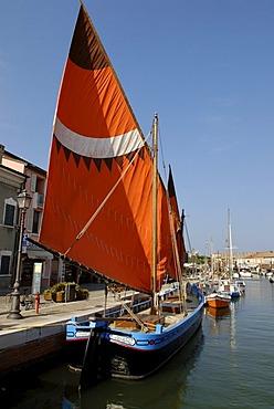 Maritime museum Museo della Marineria in the harbour, Cesenatico, on the Adriatic Sea, Adriatic coast, Emilia Romagna, Itay, Europe