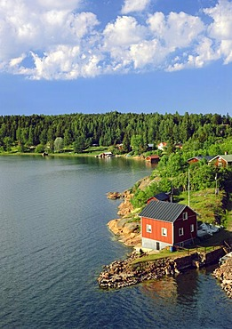 House by the water, Aland, Finland, Europe