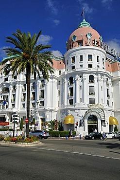 Famous Hotel Negresco, Nice, Departement Alpes-Maritimes, Region Provence-Alpes-Cote d'Azur, France, Cote d'Azur, Europe