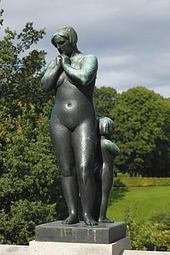 Sculpture, Vigeland Sculpture Park, Frogner Park, Oslo, Norway, Europe