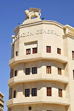 Building on the Place d'Etoile, Beirut, Lebanon, Middle East, Orient
