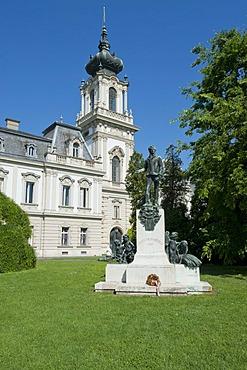 Baroque castle, Festetics kasteely, Keszthely, Hungary, Europe, PublicGround