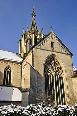 Abbey Church, Protestant Church, Bebenhausen, district of Tuebingen, Baden-Wuerttemberg, Germany, Europe