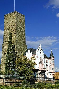 Boosenburg Castle, Ruedesheim am Rhein, Middle Rhine Valley, UNESCO World Heritage Site, Rhineland-Palatinate, Germany, Europe