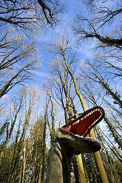 Dinosaur in the Park Modo Verde, Landgraaf, Limburg, Netherlands, Europe