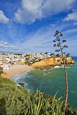 Town view, Carvoeiro, Algarve, Portugal, Europe