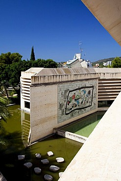 Fundacio Pilar i Joan Miro, Cala Major, Majorca, Balearic Islands, Spain, Europe