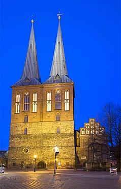 Nikolaikirche, Nikolaiviertel, Nikolai Quarter, Berlin, Germany, Europe