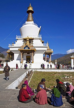 Memorial Chorten, Thimphu, Bhutan, South Asia