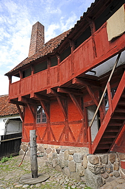 Open-air museum, the Old Town or Den Gamle By, ≈rhus or Aarhus, Jutland, Denmark, Europe