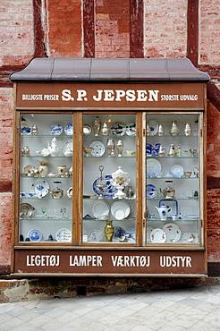 Historic lamp shop, oen-air museum the Old Town or Den Gamle By, ≈rhus or Aarhus, Jutland, Denmark, Europe