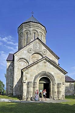 Episcopal Church from the 11th Century, Nikortsminda, Racha-Letschumi, Georgia, Western Asia