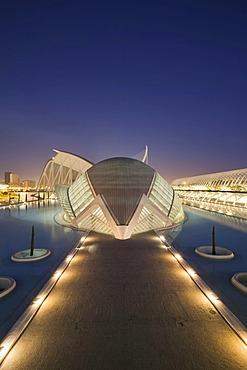 L'Hemispheric, La Ciudad de las Artes y las Ciencias, City of Arts and Sciences, Valencia, Comunidad Valencia, Spain, Europe