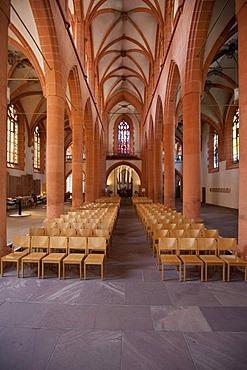 Heiliggeistkirche, Church of the Holy Spirit, the largest and most important church in Heidelberg, Rhine-Neckar Metropolitan Region, Baden-Wuerttemberg, Germany, Europe
