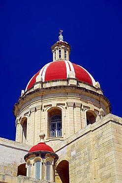 Church in Ghasri, Gozo Island, Republic of Malta, Mediterranean Sea, Europe