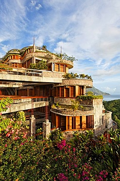 Jade Mountain luxury hotel, Saint Lucia, Windward Islands, Lesser Antilles, Caribbean, Caribbean Sea