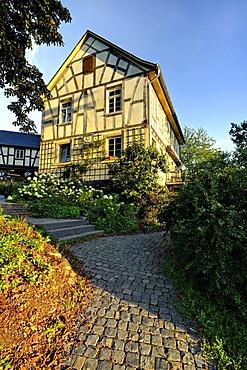 Guenderodehaus, Siebenjungfrauenblick, Oberwesel, Rhineland-Palatinate, Germany, Europe