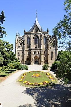St. Barbara Church, Kutna Hora, Czech Republic, Europa