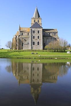 Cerisy-la-Foret Abbey, Manche department, Region Basse-Normandie, Normandy, France, Europe