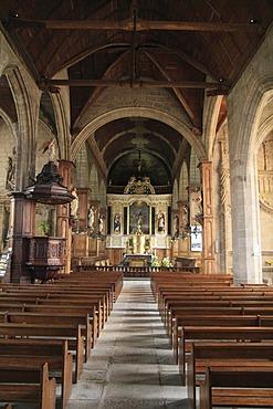 Church of Saint-Sulpice, Fougeres, Ille-et-Vilaine, Region Bretagne, France, Europe