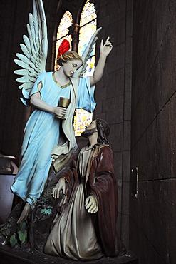 Angel, statue, Basilica Nacional Nuestra Senora de Lujan, Argentina, South America