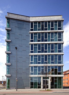 Wolfgang-Koehler-Haus building, Department of Psychology, Humboldt-Universitaet university, Wissenschaftsstadt Adlershof Science City, Berlin, Germany, Europe
