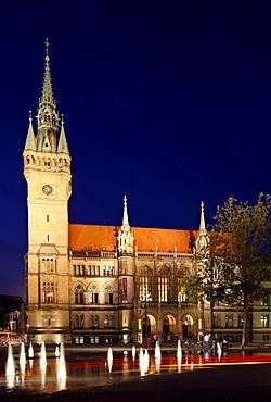 Town hall, Braunschweig, Brunswick, Lower Saxony, Germany, Europe